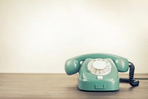 Vintage Green Phone